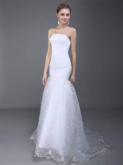 Simple Mermaid Wedding Dresses 2013   Fashion Trends