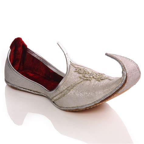 unze mens java leather traditional indian khussa pumps