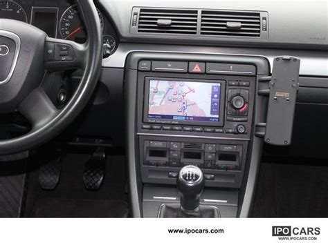 how petrol cars work 2007 audi a4 navigation system 2007 audi a4 1 9 tdi navigation system with color display cruise control car photo and specs