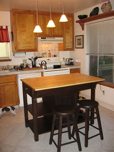 small kitchen island with seating diy kitchen island ideas and tips