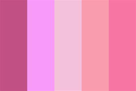 pretty colors pretty in pink color palette