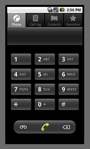 android  alphabetic labels  phone dialer  stack overflow