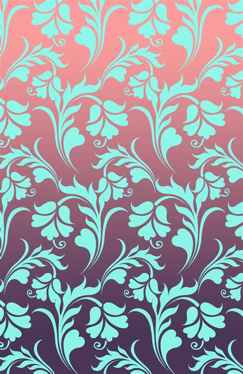 10 By 14 Rugs Turquoise Pattern - floral pattern flower vector pink purple turquoise blue