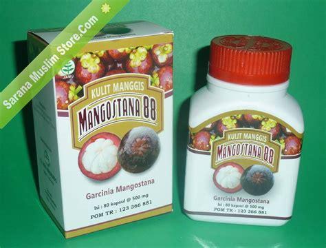 Kapsul Ekstrak Kulit Manggis Mangostana 88 Diskon mangostana 88 kapsul herbal ekstrak kulit manggis jogja