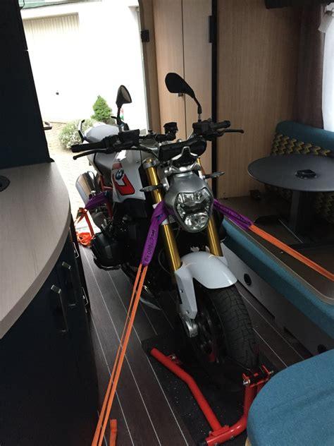 Motorrad Im Wohnwagen Forum by Motorradtransport Im Wohnwagen Transport Von Motorrad