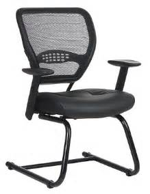Office Chairs Without Casters Desk Chairs Without Casters Finishing Touch Interiors