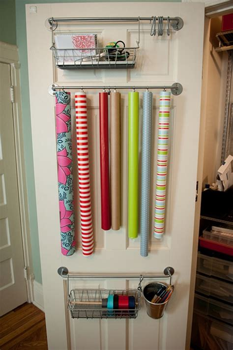 How To Wrap A For Storage by 20 Back Of Door Storage Ideas