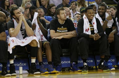 golden state bench for the casual follower newcomers and cavaliers fans 20