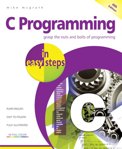java in easy steps covers java 9 books in easy steps c programming in easy steps 4th edition