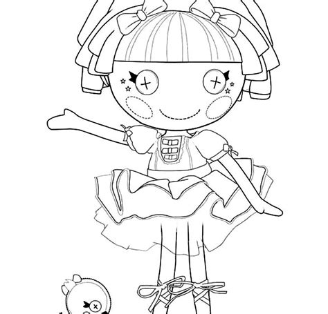 lalaloopsy coloring pages colouring pages 28 free