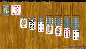 Yahoo solitaire features both the freecell and klondike solitaire