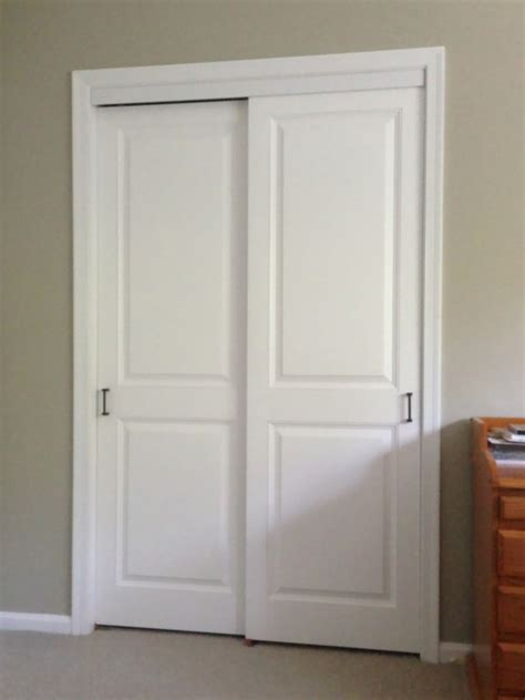 Panel Mirror Sliding Doors Raised Panel Closet Doors