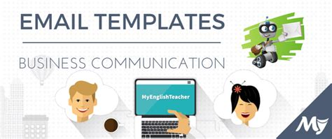 30 Email Templates For Business Communication Myenglishteacher Eu Blog Communication Email Templates
