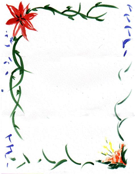 fiori clipart flower borders cliparts co