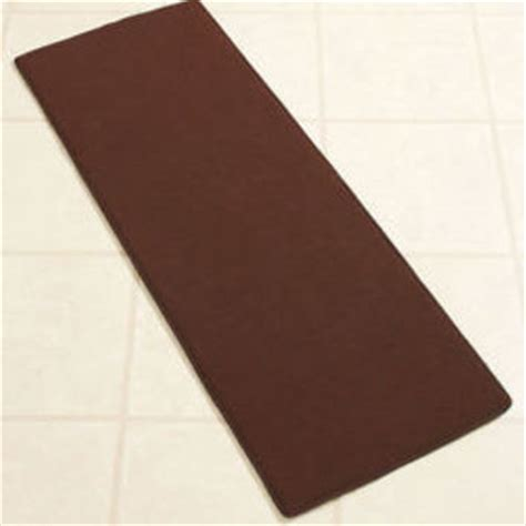 Kitchen Runner Mat Brown by Chocolate Brown 54 Quot Memory Foam Kitchen From Cornerstone