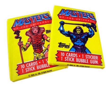 masters of the universe card template review masters of the universe trading cards