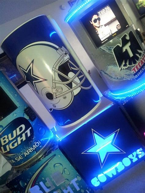 dallas cowboys bud light tecate titanuim bud light and dallas cowboys models
