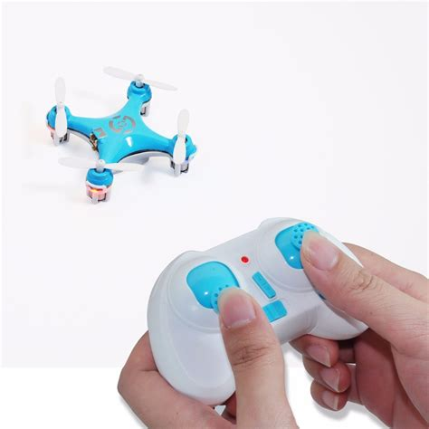 Drone Cx 10 mini drone cheerson cx 10 4 canais azul pronta entrega