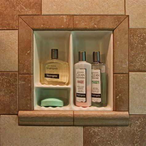 Shower Niche Shelf by Recessed Bathroom Tile Niches Traditional Tub And Shower Parts Dc Metro By Bathroom Tile