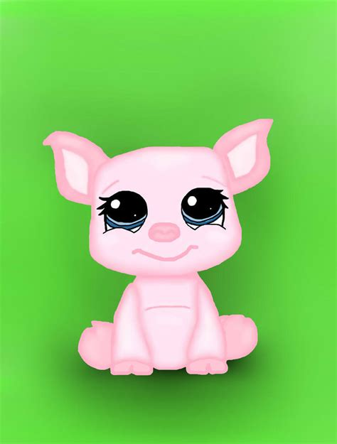 lps painting lps pig by akihua on deviantart
