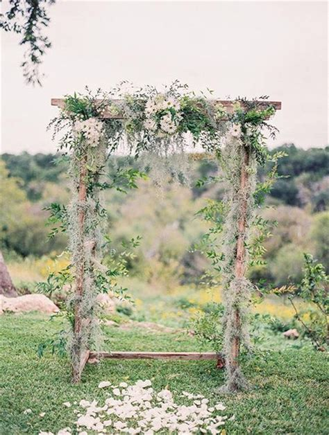 Outdoor Wedding Arbor by 20 Diy Floral Wedding Arch Decoration Ideas