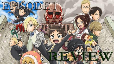 Attack On Titan Junior High School 11 attack on titan junior high school episode 1 review