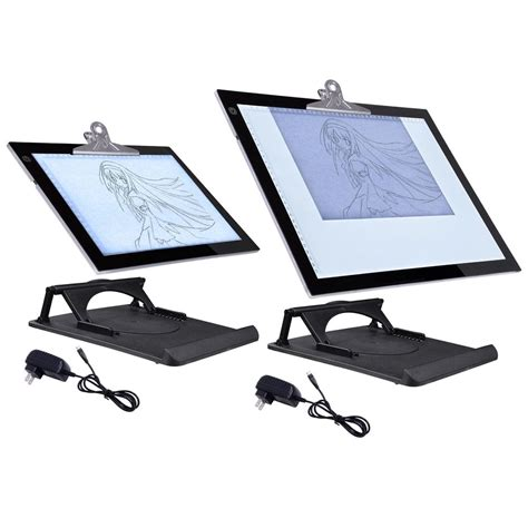 light box tracing table a3 a4 led tracing light box drawing board pad table