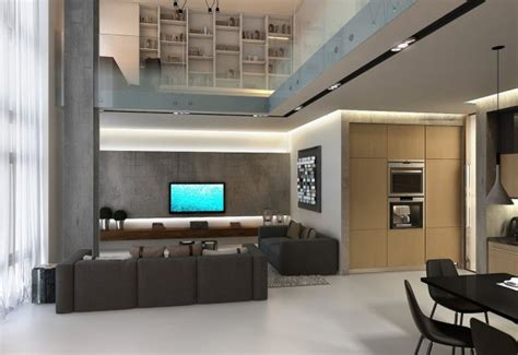 Vaulted Ceiling Apartment by Vaulted Ceiling Apartment Interior Design Ideas