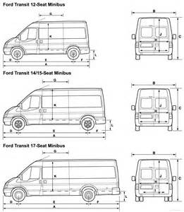 ford transit t350 dimensions images