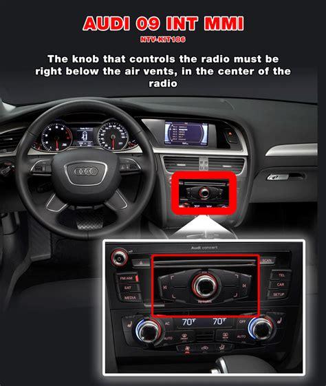 Audi Mmi Radio by Interface Audi 09 Int Mmi Nav Tv