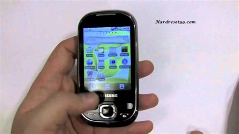 reset samsung backup password samsung gt i5500 galaxy 5 hard reset factory reset and