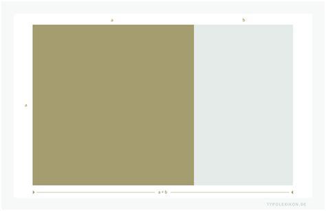 goldenen schnitt berechnen goldener schnitt teilungsverh 228 ltnis einer fl 228 che