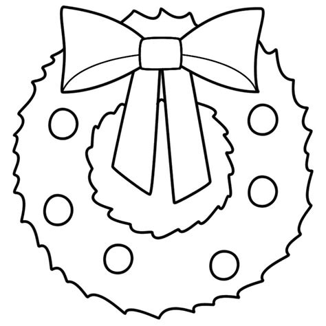 wreath bow coloring page 1000 images about wreaths on pinterest closet storage