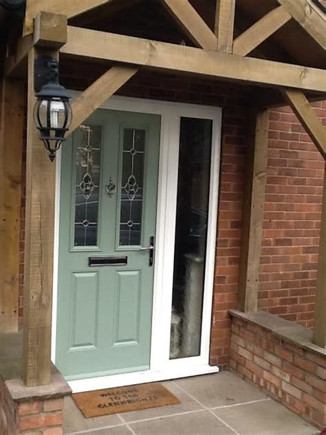 Exterior Doors With Side Panels Side Panels For Upvc Doors Composite Doors