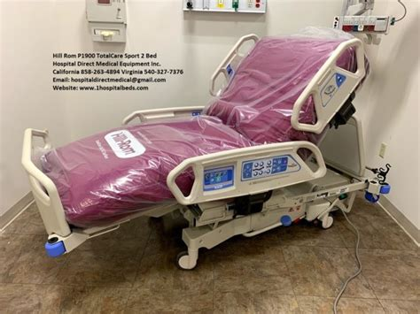 hill rom p totalcare sport bed los angeles hospital beds