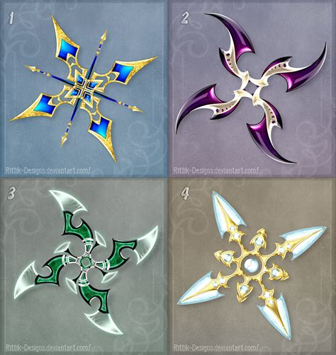 deviantart pattern shurikens adopts 2 closed by rittik designs on deviantart