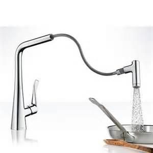 robinet cuisine avec douchette hansgrohe focus espace aubade