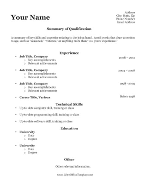 applicant resume