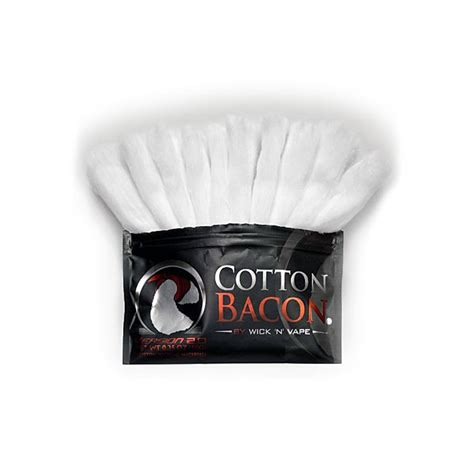 Cotton Bacon V2 By Wick N Vape Authenthic Kapas Vape Vapor authentic wick n vape cotton bacon v2 0