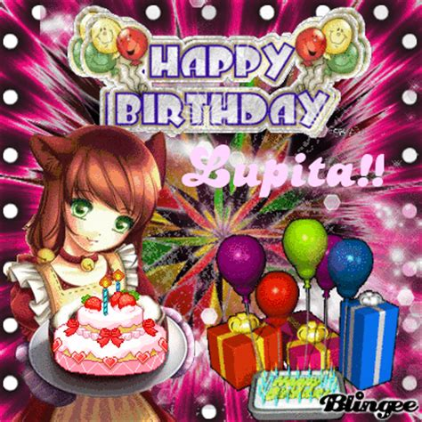 imagenes bonitas de feliz cumpleaños lupita feliz cumplea 241 os lupita picture 116344918 blingee com