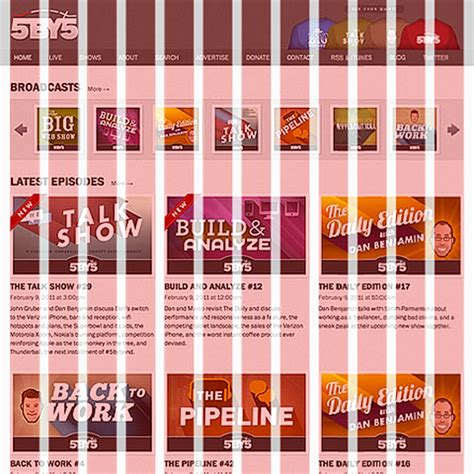 grid pattern web design web design in 2013 means hamburgers 960 grids and