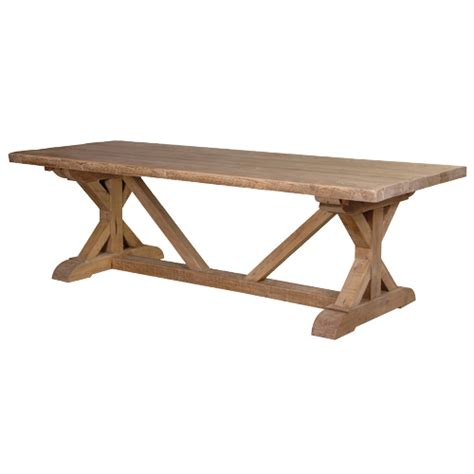 Retro Dining Room Table reclaimed wood dining table