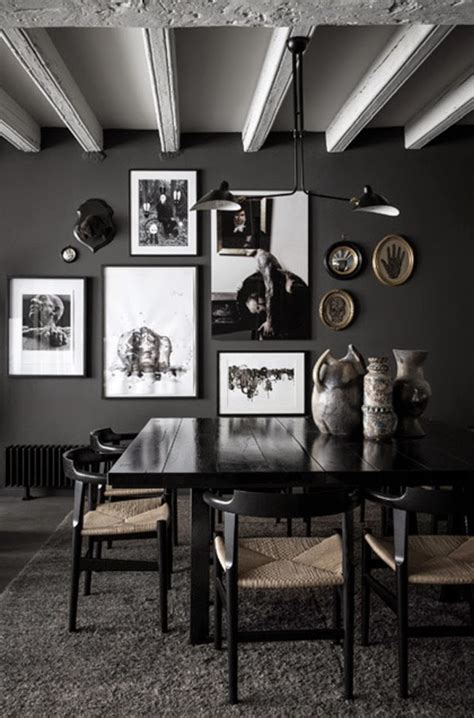 maison home decor eclectic trends a black home in lyon eclectic trends