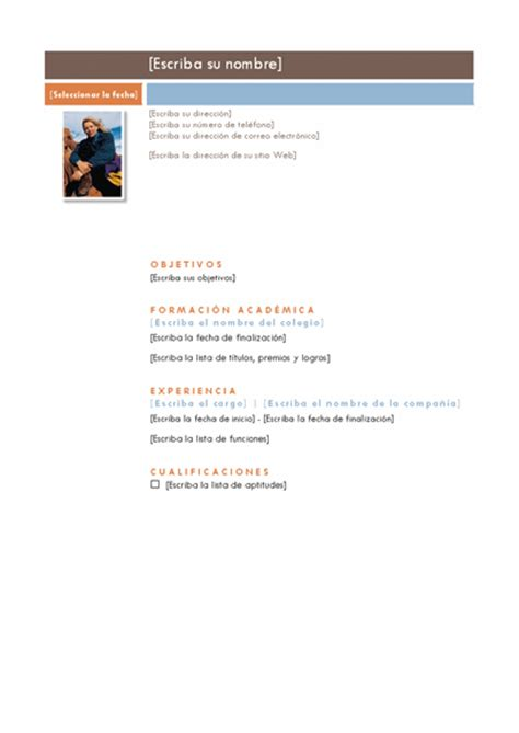 Modelo De Curriculum Vitae Para Word 2010 Modelos De Informes Simples En Word Imagui