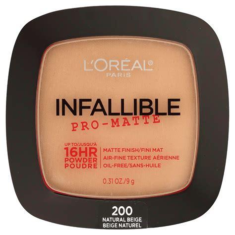Loreal Infallible Pro Matte Powder 9gr l or 201 al infallible pro matte powder