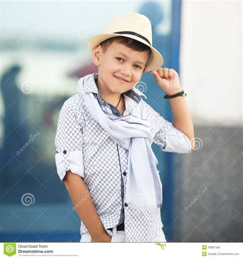 Kid Cuteboy boy happy kid outdoors stock photo image 43967506