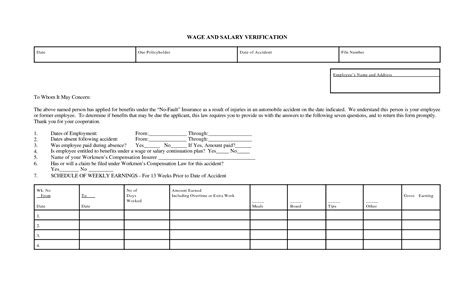 income verification form best photos of income verification form blank income