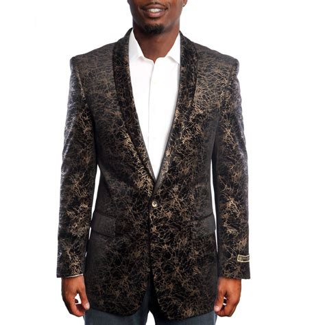 gold pattern blazer gold tuxedos accessories prom 2017 perfect tux