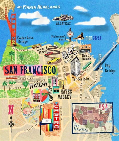 kngo3 2 jpg map pinterest map design graphics and 21 gorgeous illustrated maps of san francisco design