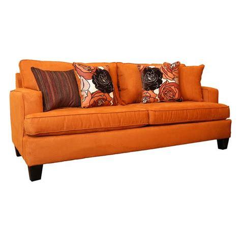 burnt orange microfiber sofa 1000 images about furniture dreams on great